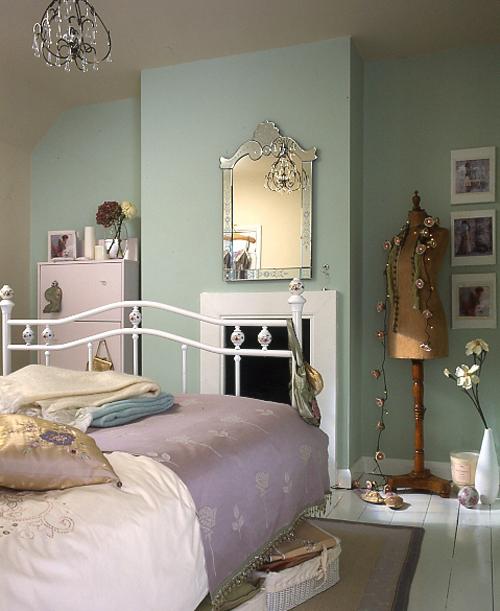 Vintage bedroom, Pippa Jameson Interiors
