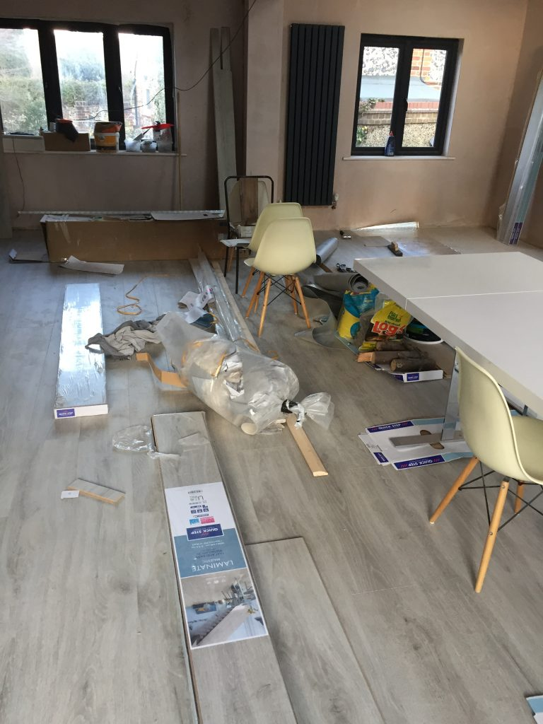 Interior Stylist Pippa Jameson styling for Quick-Step with Majestic floor