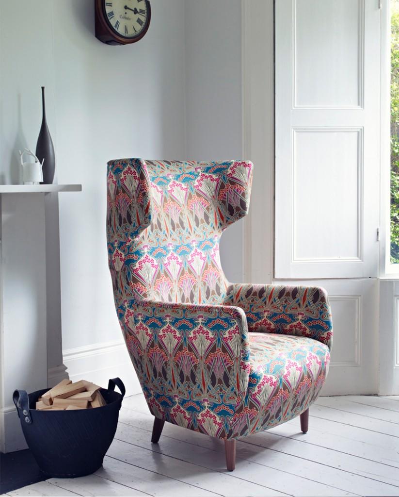Liberty Art Fabrics Interiors_Hera Slate Blue