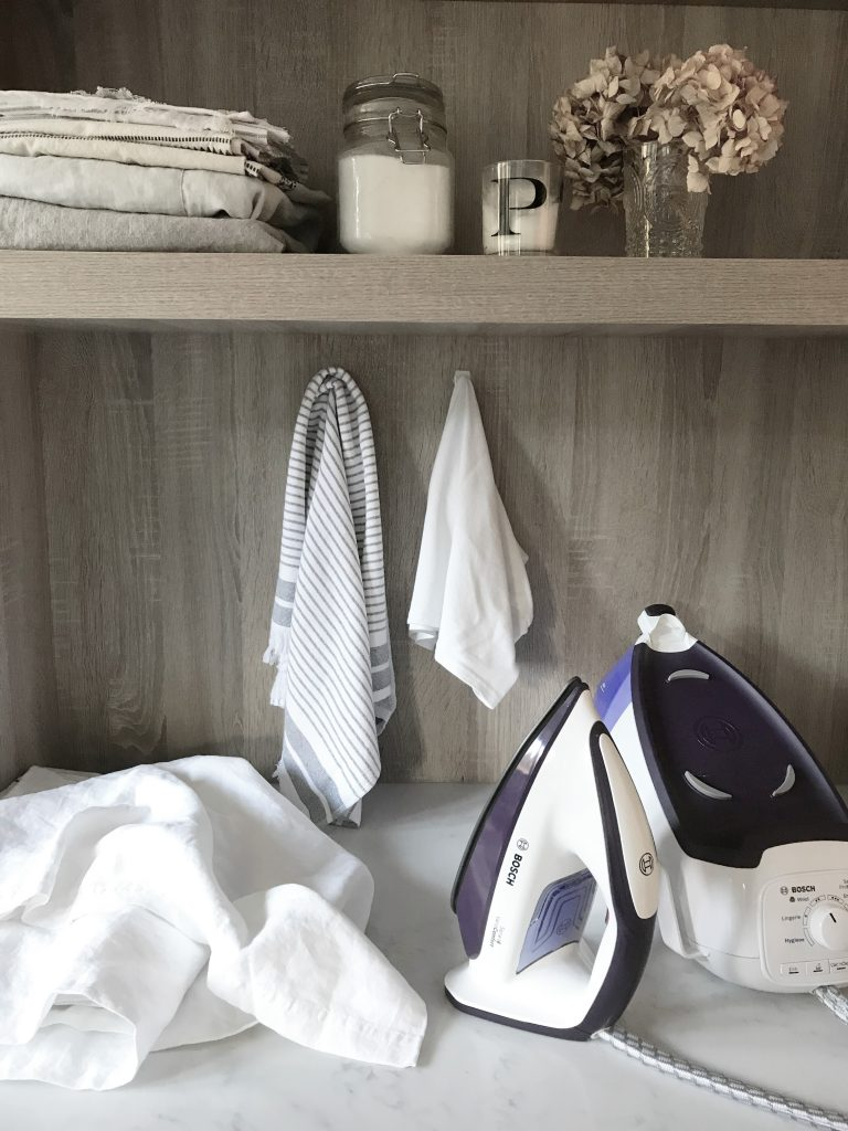 Interior Stylist Pippa Jameson Chooses her best iron and styles it for Bosch