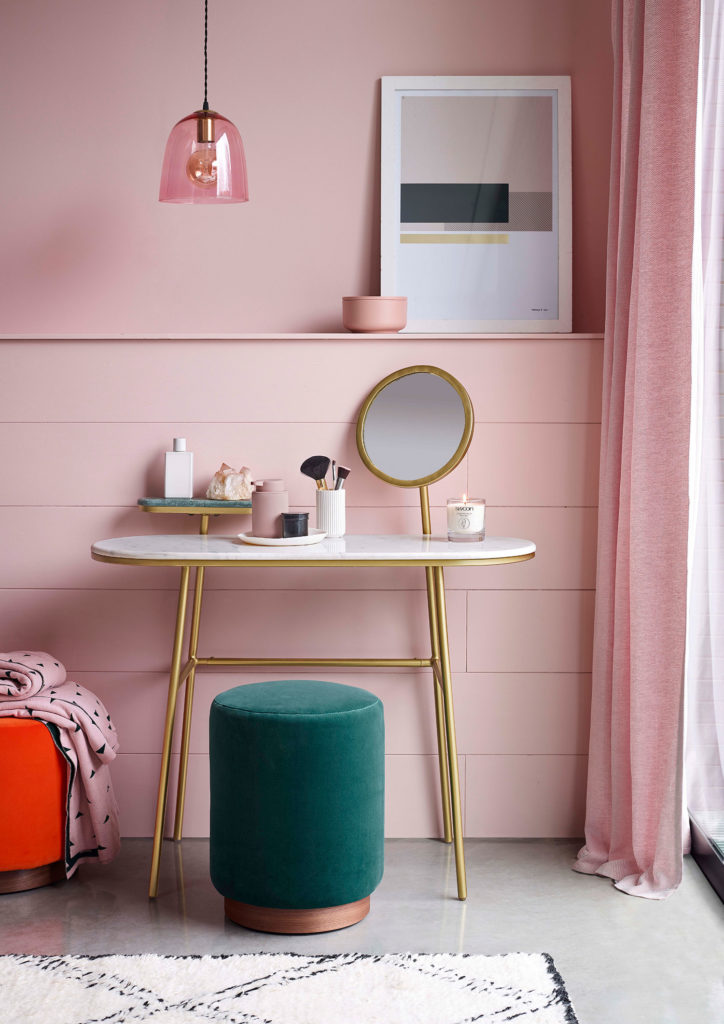 Interior stylist Pippa Jameson shows the top pink interior trends for 2019 and 2020