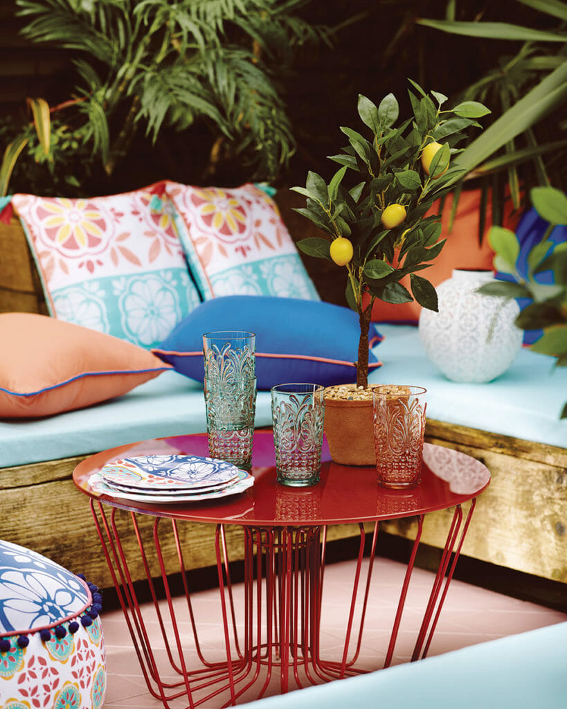 Top Summer Styling ideas for the Garden by london based interior stylist Pippa Jameson, Image Sainsbury's Home