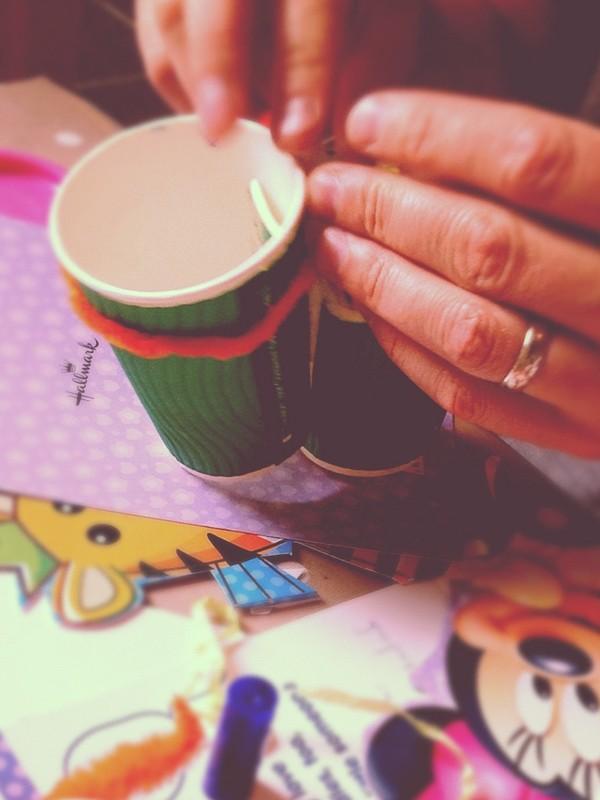 Craft with kids, toilet roll craft, making binoculars, colouring, kids craft, kids craft idea