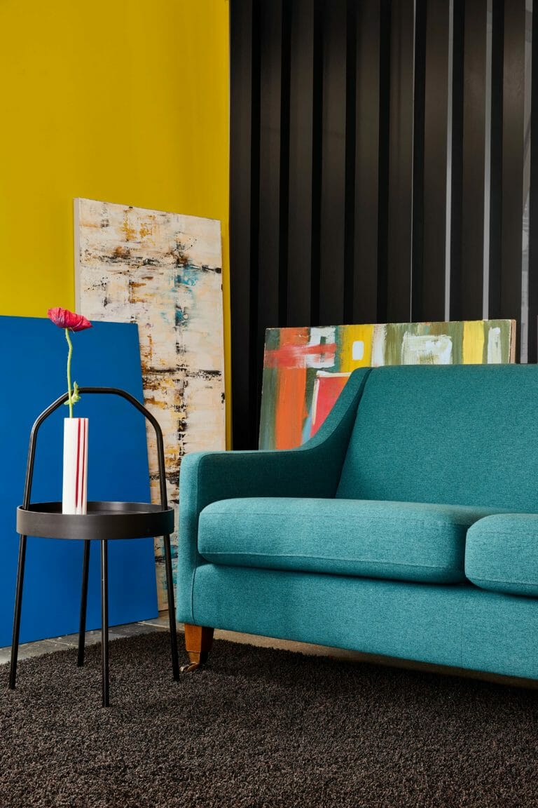 London based interior stylist Pippa Jameson designs sets for DFS