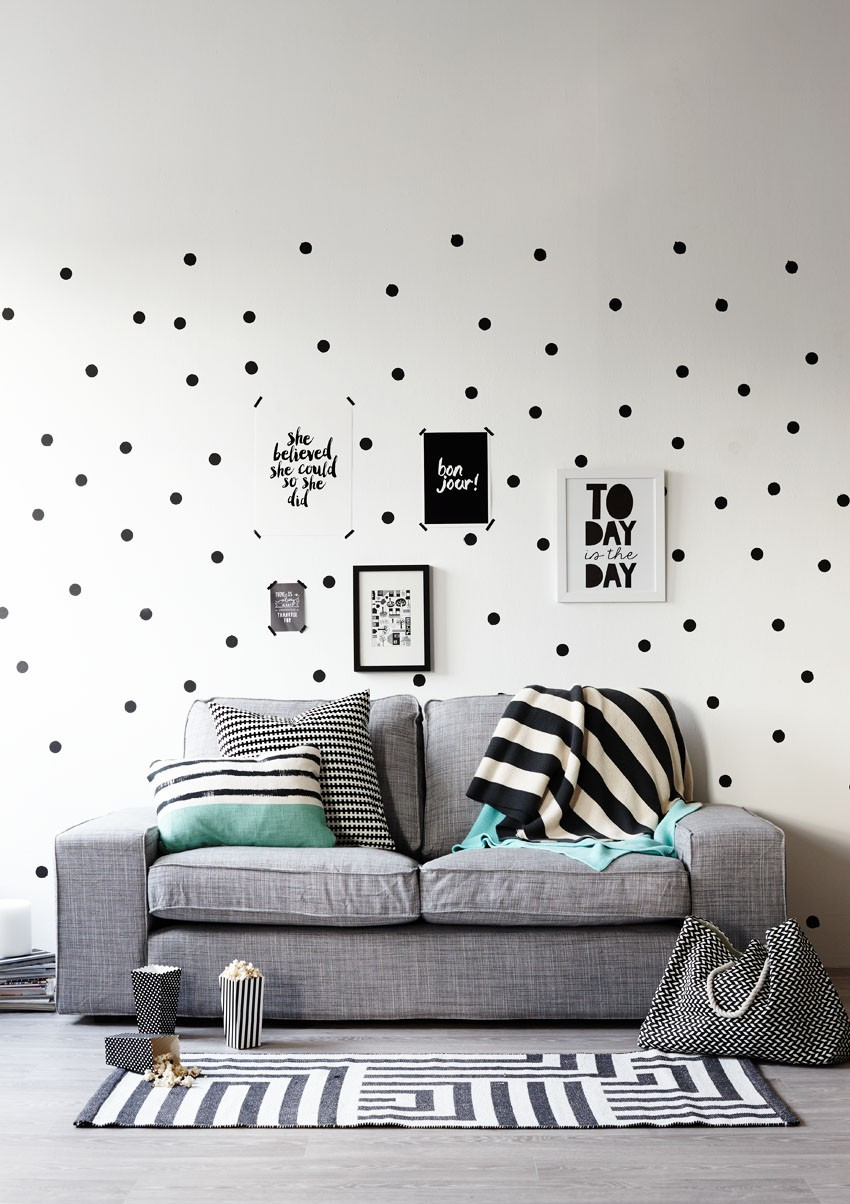 Have Some Fun With Polka Dot Walls Pippa Jameson Interiors