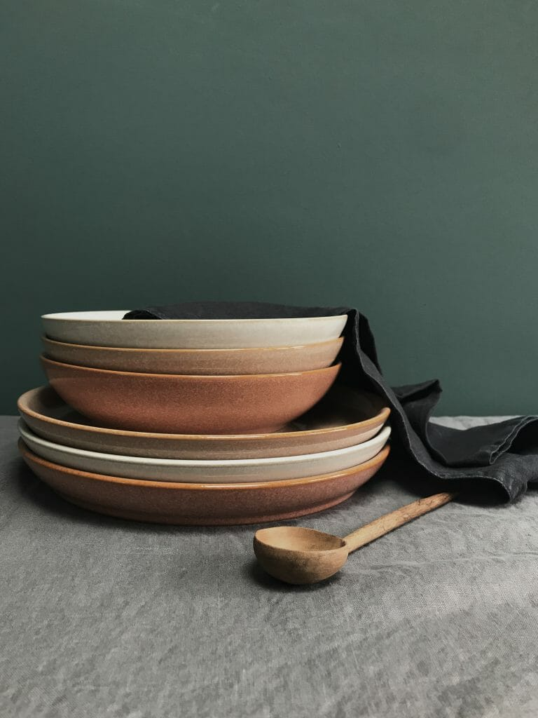 London based interior stylist Pippa Jameson, Styles for Denby Pottery