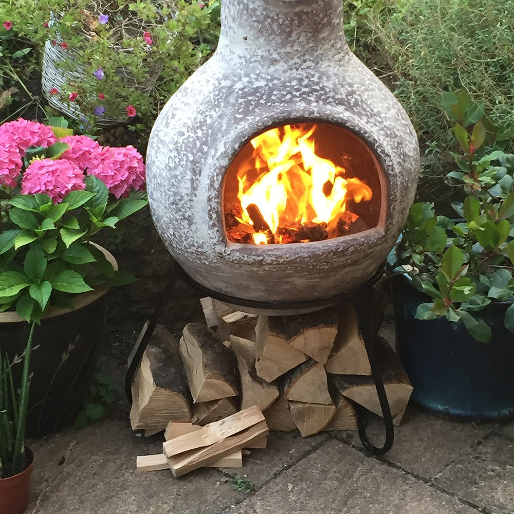 Gardeco Cruz chiminea review by Pippa Jameson
