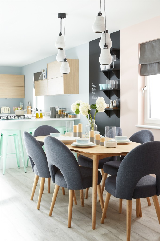 pippa jameson interiors, MarkScott, Styling the House Beautiful Home, Kitchens, pastel kitchens