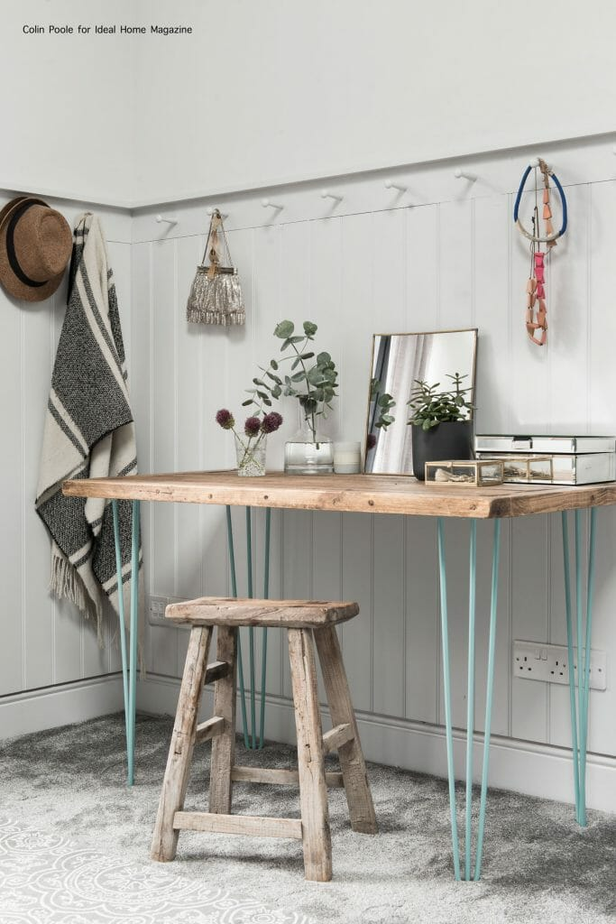 10 tips to improve time management: beautiful desk setup styled by Pippa Jameson
