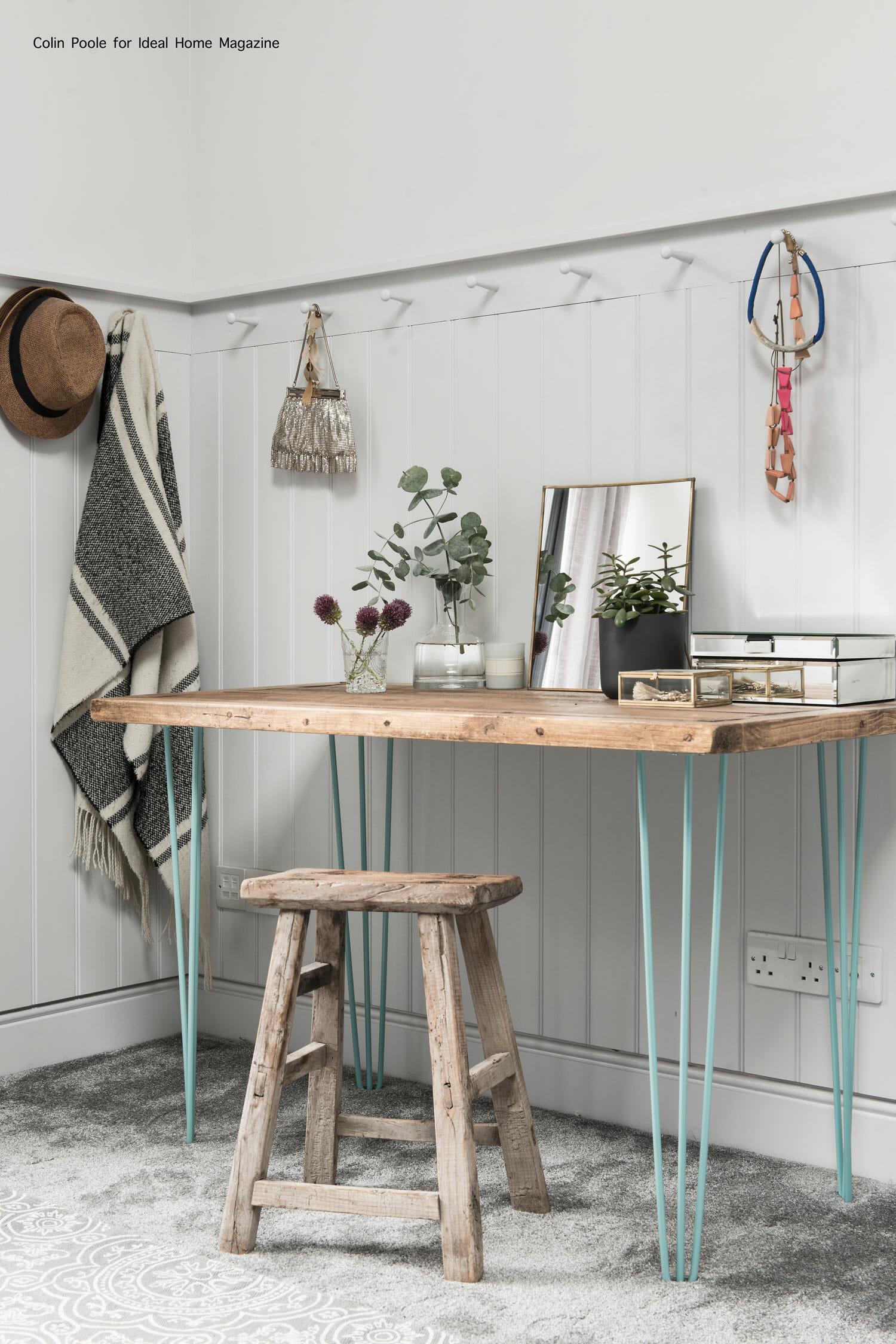 Beautiful desk setup styled by Pippa Jameson