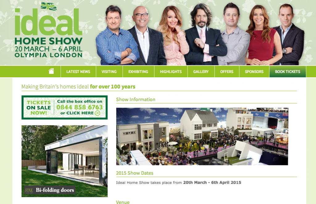 The Ideal Home Show 2015