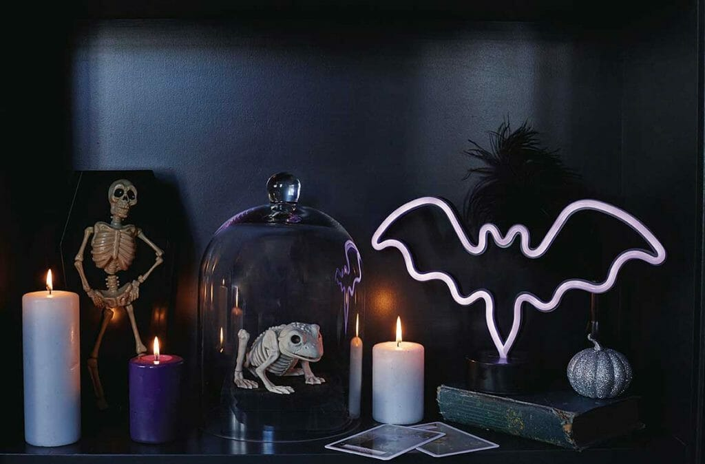 Halloween decorating ideas by Interior Stylist Pippa Jameson