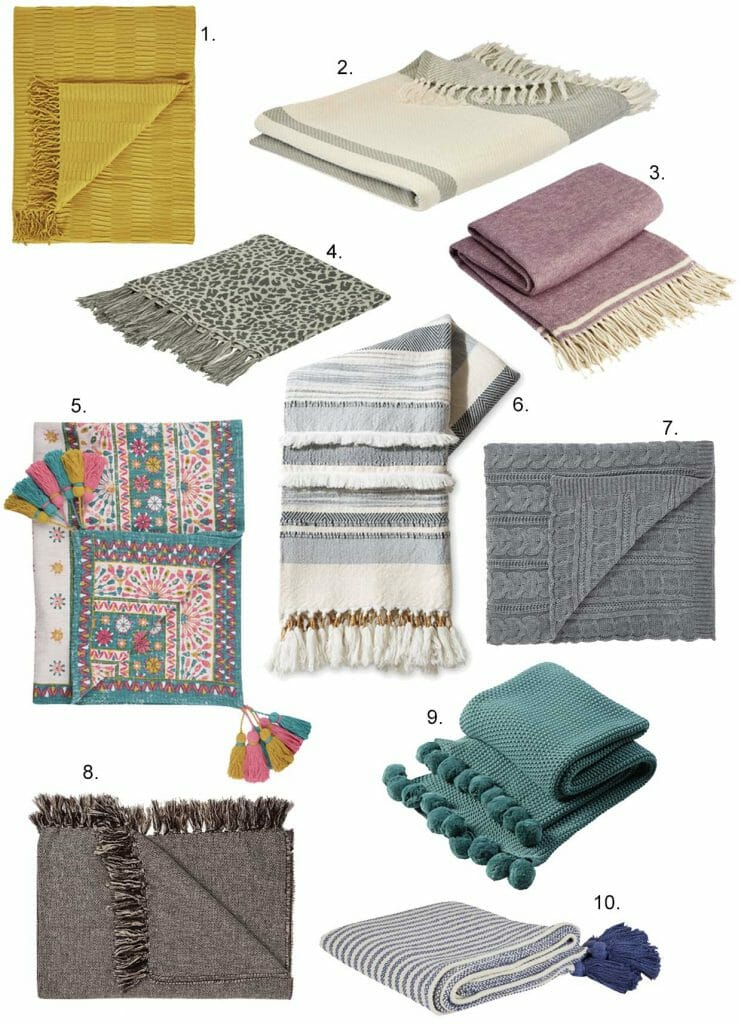 Top 10 Best Throws and Blankets for Winter in 2019 by Pippa Jameson